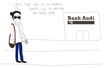 Going to the bank