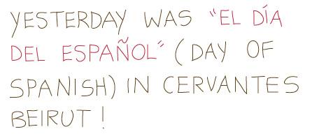 día-español